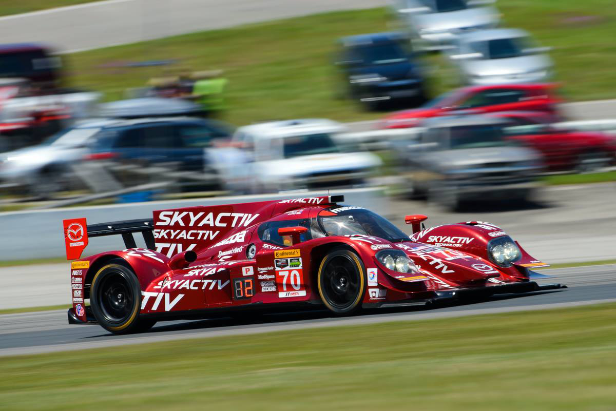 #07 Mazda Prototype Takes 6th At The TUSC Canadian Round