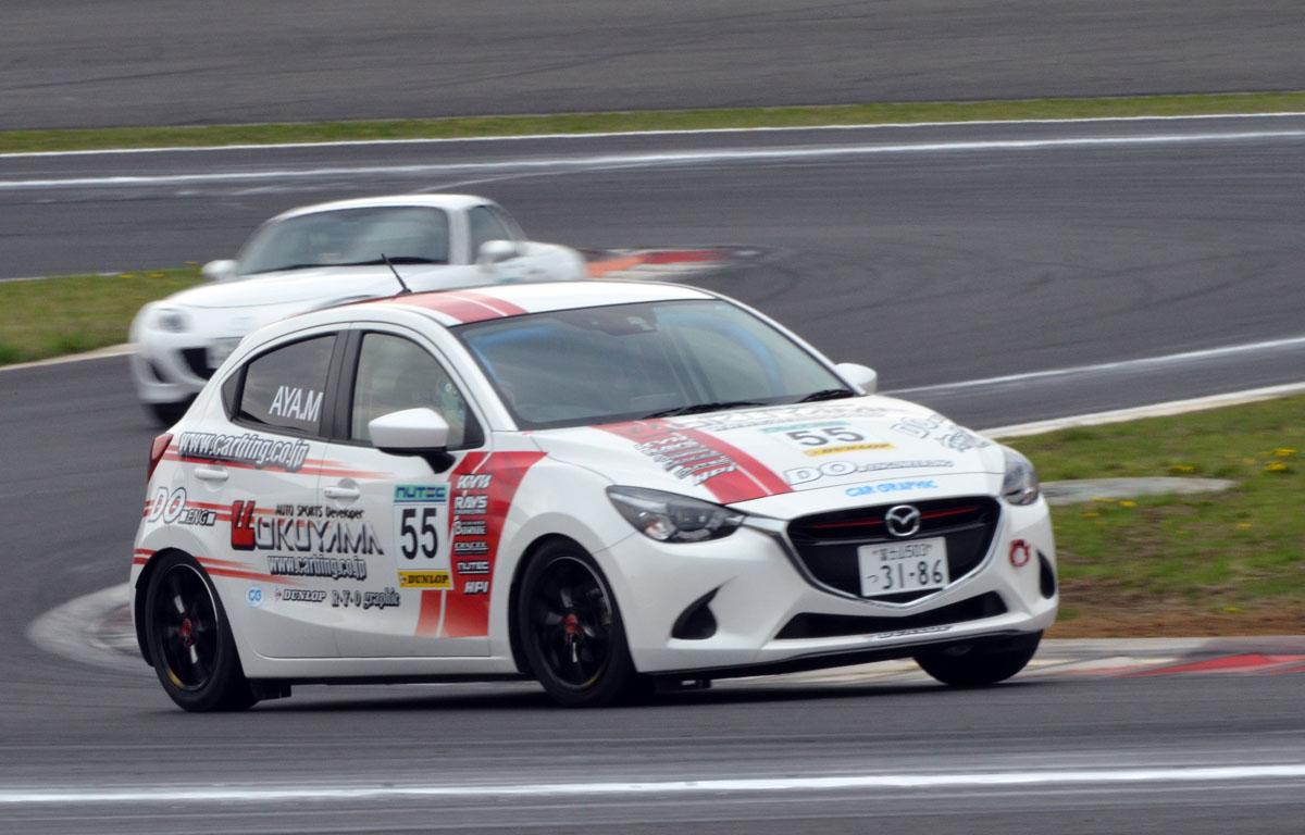 mz racing - mazda motorsport - demio skyactiv-d makes its fuji