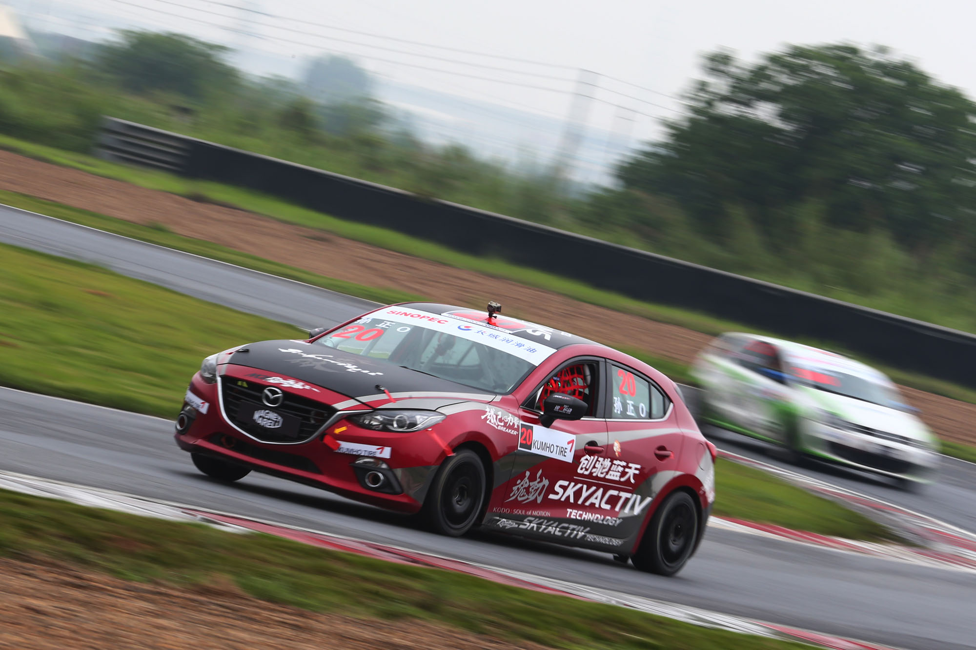 Mz Racing Mazda Motorsport Mazda 6 And Mazda 3 Debut At Ctcc