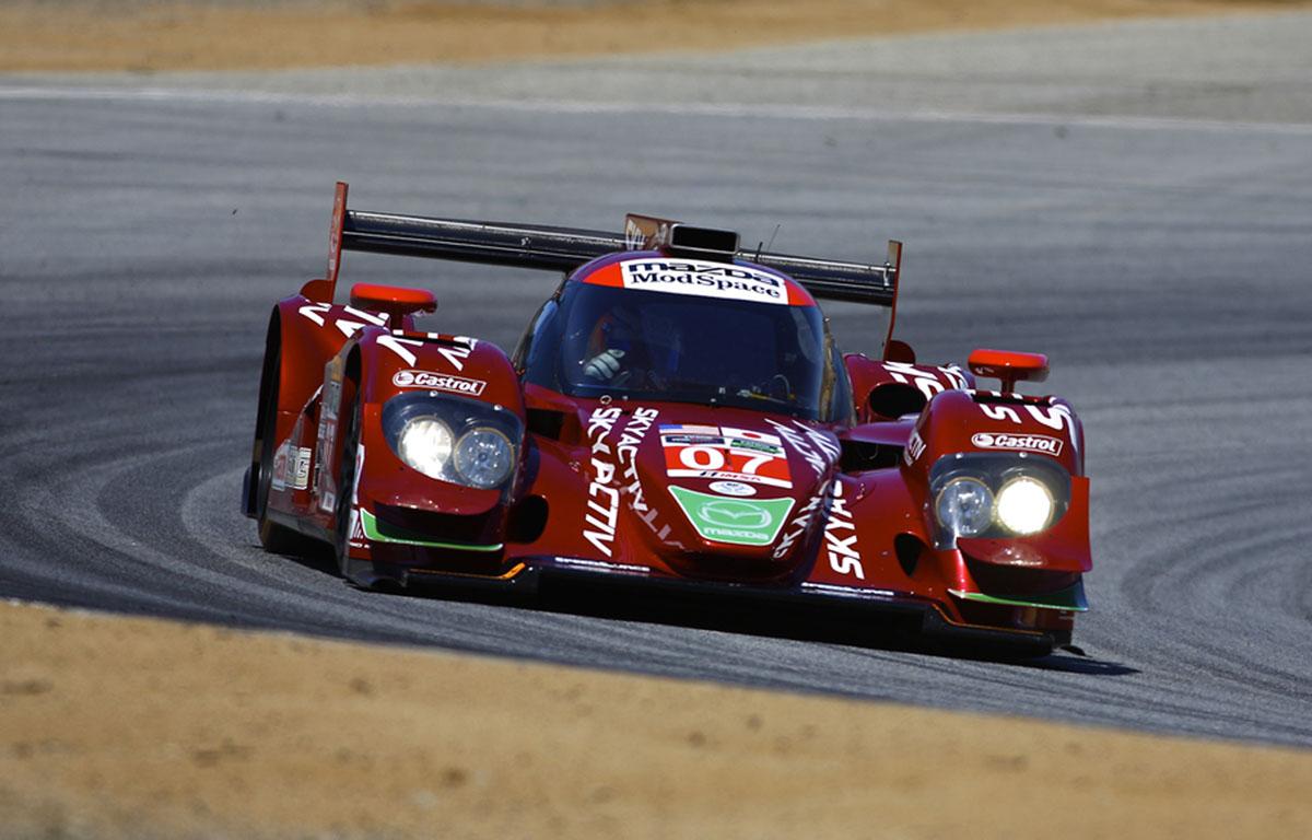 Mazda Prototype Matches Best Ever Finish At Mazda Raceway