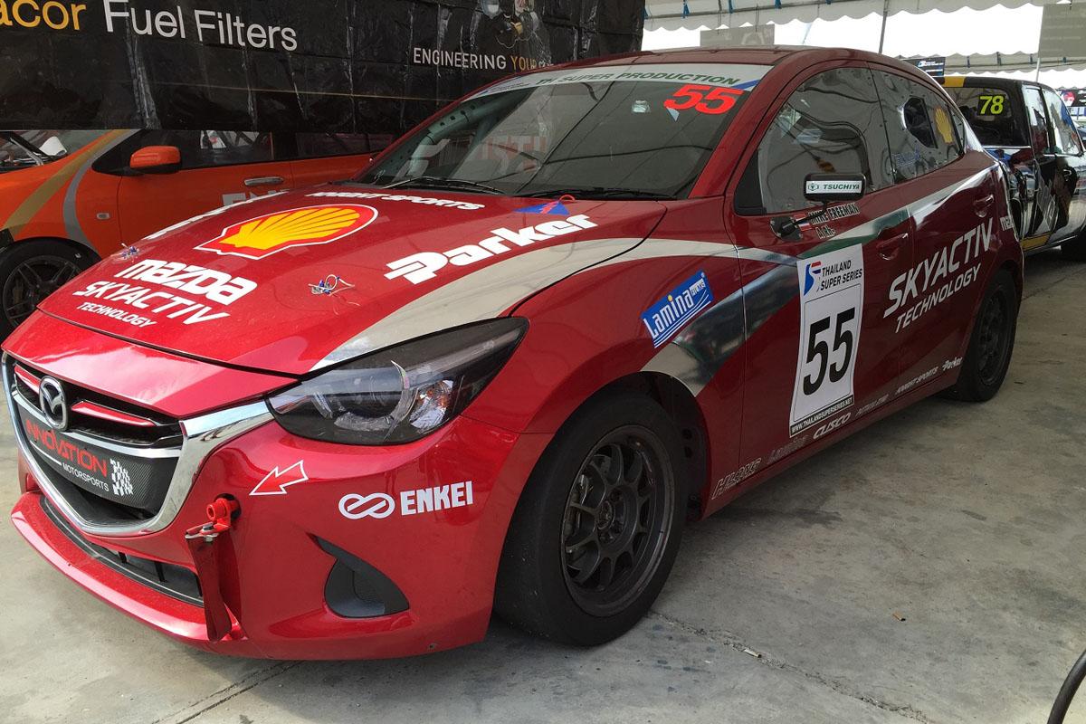 mz racing - mazda motorsport - mazda 2 skyactiv-d challenges