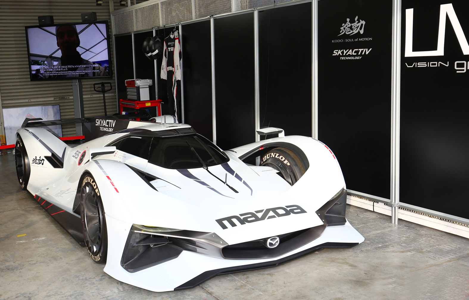 Mazda Has Announced That The Rotary Sports Concept, The U201cMazda RX VISIONu201d  And The Full Scale Model Virtual Sports Car, The U201cMazda LM55 Vision Gran  Turismou201d ...