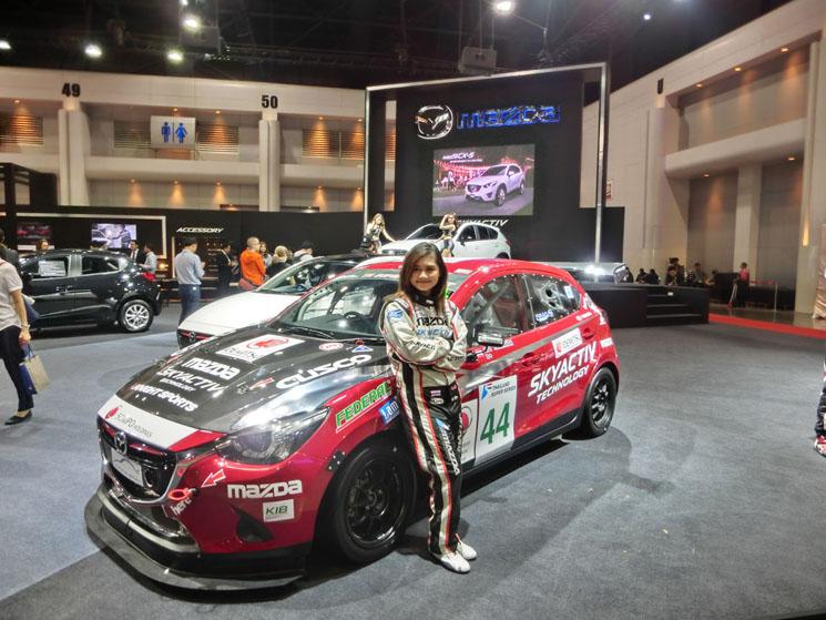 mz racing - mazda motorsport - mazda 2 skyactiv-d garnering
