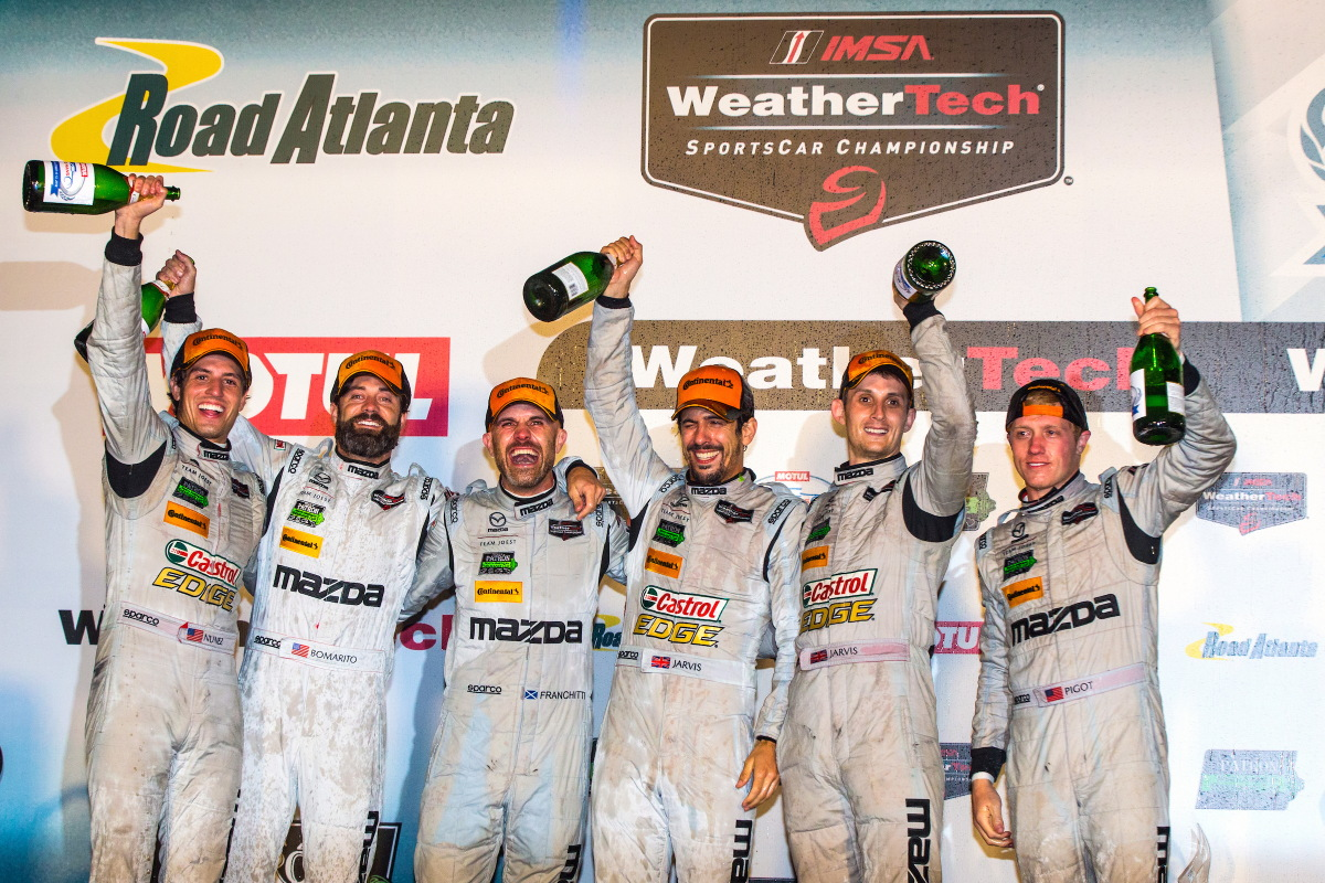 3a8218793ba MZ Racing - MAZDA Motorsport - Double Podium For Mazda At Petit Le Mans